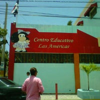 Photo taken at Centro Educativo Las Americas (CELA) by Raymer E. on 5/11/2012