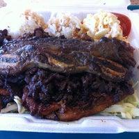 Photo taken at Ohana Hawaiian BBQ by Erick R. on 2/14/2012