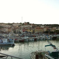 Photo taken at Port de Cassis by Ra S. on 8/8/2012