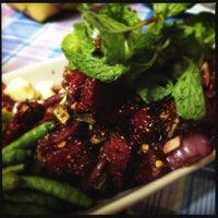 Photo taken at ร้านอาหารสมาคมชาวสุรินทร์ by Lerkiat M. on 8/24/2012