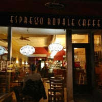 Photo taken at Espresso Royale Cafe by Mia A. on 3/27/2012