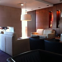 Photo taken at Hilton Executive Lounge by Robert Y. on 4/21/2012
