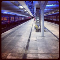 Photo taken at London Blackfriars Railway Station (BFR) by Richard G. on 8/9/2012
