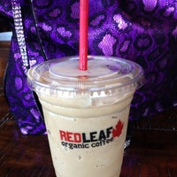 Photo taken at RED LEAF Organic Coffee by Theresa . on 8/24/2012