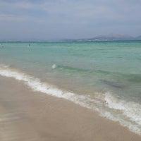 Photo taken at Muro Beach by Juan Diego on 9/8/2012