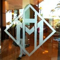 Photo taken at Grand Hyatt Cannes Hôtel Martinez by Christophe A. on 7/18/2012