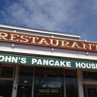 Photo taken at Mr. John's Pancake House by Brian H. on 4/15/2012