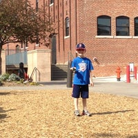Photo taken at Bricktown Park by Adam D. on 3/31/2012