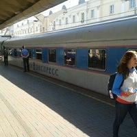 Photo taken at Поезд № 748 «Невский экспресс» Москва — Санкт-Петербург by Nikita N. on 5/29/2012