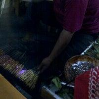 Photo taken at Sate Ayam Blora Pak Sungep by Rakhmawati N. on 8/21/2012