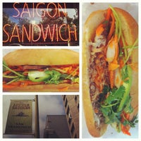 Photo taken at Saigon Sandwich by Andy S. on 8/20/2012