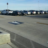 Photo taken at Salt Lake Airport Economy Lot by Martijn v. on 8/1/2012