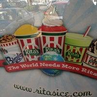Photo taken at Rita's by Rob M. on 3/20/2012