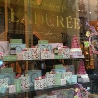 Photo taken at Ladurée Milan by Mika on 5/25/2012