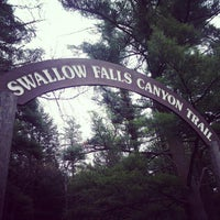 Photo taken at Swallow Falls State Park by Cindi on 5/5/2012