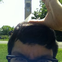 Photo taken at Cornell Chimes by Jose G. on 6/8/2012