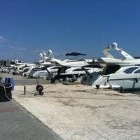 Photo taken at Яхт-клуб «Посейдон» by Maria K. on 7/28/2012