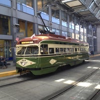 Photo taken at America Plaza Trolley Station by Scot M. on 5/26/2012