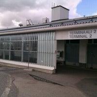 Photo taken at Turku Airport (TKU) by Anastasia G. on 9/3/2012
