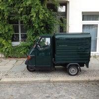 Photo taken at Elizabethkirchstrasse Park by Art Brandom on 7/9/2012