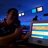 Photo taken at Cosmic Bowl by Timothy N. on 8/31/2012