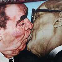 Photo taken at East Side Gallery by Luis Andrés S. on 3/14/2012
