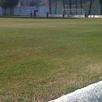 """Photo taken at Campo de Futbol   Antonio Martinez """"El Morao"""" by juan carlos m. on 2/19/2012"""