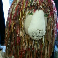 Photo taken at Lion Brand Yarn Studio by SuBarNYC on 4/25/2012