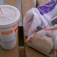 Photo taken at Taco Bell by Peter B. on 5/17/2012