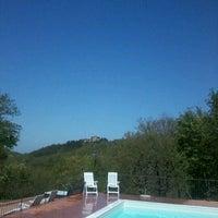 Photo taken at borghetto poggio bianco by Alessandra M. on 4/28/2012