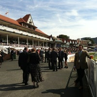 Photo taken at Chester Racecourse by Louise T. on 9/1/2012