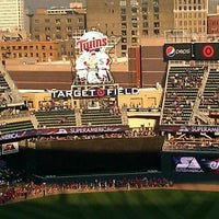 Photo taken at Target Plaza @ Target Field by Jason E. on 4/26/2012