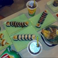 Photo taken at Takenoko Sushi Ketos by Dwi S. on 8/28/2012