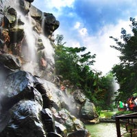 Photo taken at Man-made WaterFalls by Wei C. on 6/23/2012