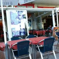 Photo taken at Pizzeria Italia by Di N. on 6/20/2012