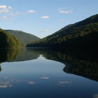 Photo taken at Cheat Lake Backwaters by Steven M. on 7/16/2012