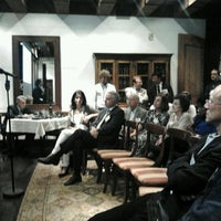 Photo taken at Donato Enoteca Restaurant by Leonardo Z. on 8/29/2012