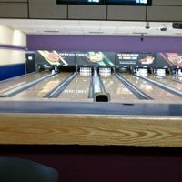 Photo taken at AMF Gulf Gate Lanes by Jean C. on 5/29/2012