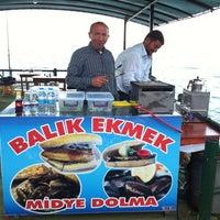 Photo taken at Balık Ekmekçi by M Cem P. on 6/12/2012