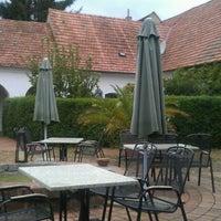 Photo taken at Geniesserhof Haimer - Hotel Garni & Weingut by Wolfgang R. on 9/1/2012