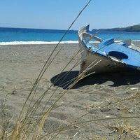Photo taken at Psaropouli beach by Elena M. on 9/1/2012