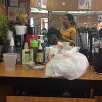 Photo taken at Johanny barber shop by Tarayvia F. on 3/29/2012
