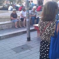 Photo taken at Piazza della Marranella by Anita B. on 8/23/2012