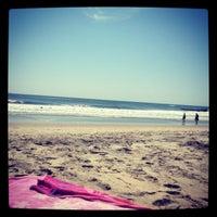 Photo taken at Belmar Beach by Felix O. on 6/3/2012
