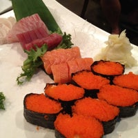 Photo taken at River Japanese Cuisine by Wendy W. on 4/28/2012