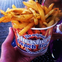 Photo taken at Thrasher's French Fries by Brian S. on 8/4/2012