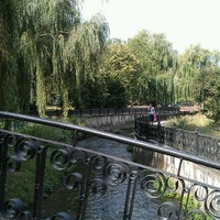 Photo taken at Парк Гагарина by Nastya on 8/2/2012