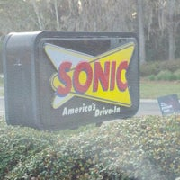 Photo taken at SONIC Drive In by Eric G. on 3/7/2012