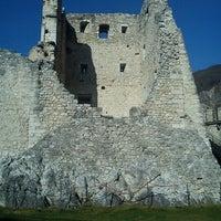 Photo taken at Castel Beseno by Damiano V. on 3/11/2012