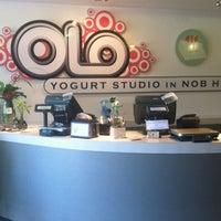 Photo taken at Olo Yogurt Studio by Robert W. on 6/9/2012